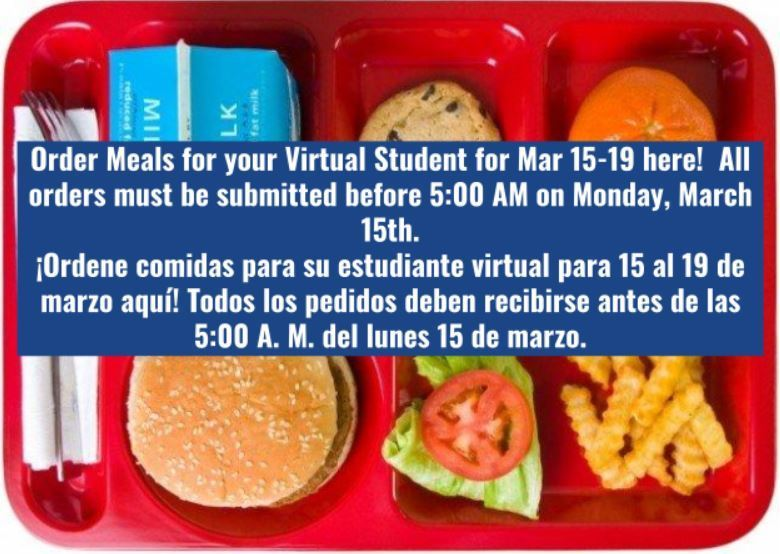 Order Meals for Virtual Learners Here!