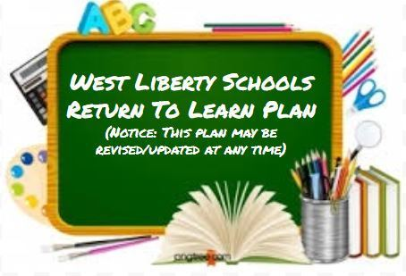 West Liberty Schools Return to Learn Plan (Updated 9/14/2020)