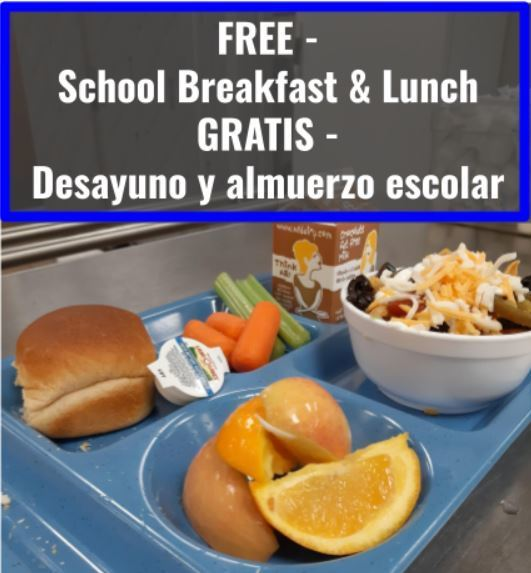 Inviting ALL WLCSD Students to Breakfast and Lunch in Their Building Cafeteria!