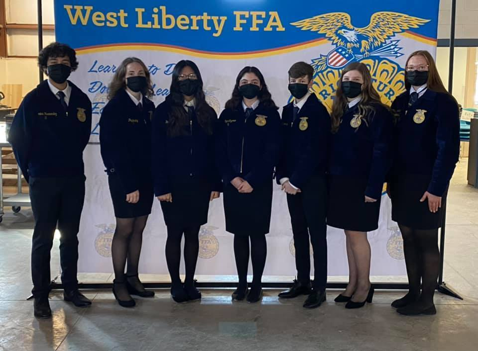 West Liberty FFA #1 Chapter in Iowa